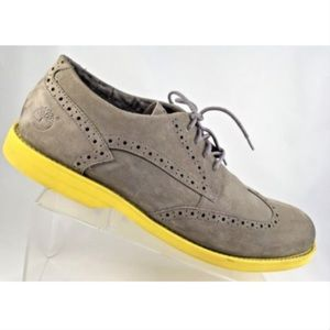 Timberland Earthkeepers Mens Oxford Grey/Yellow 13